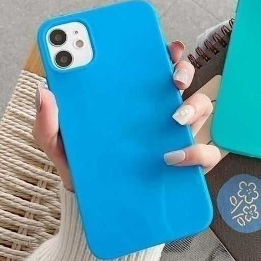 New iPhone 12 Blue Protective Case