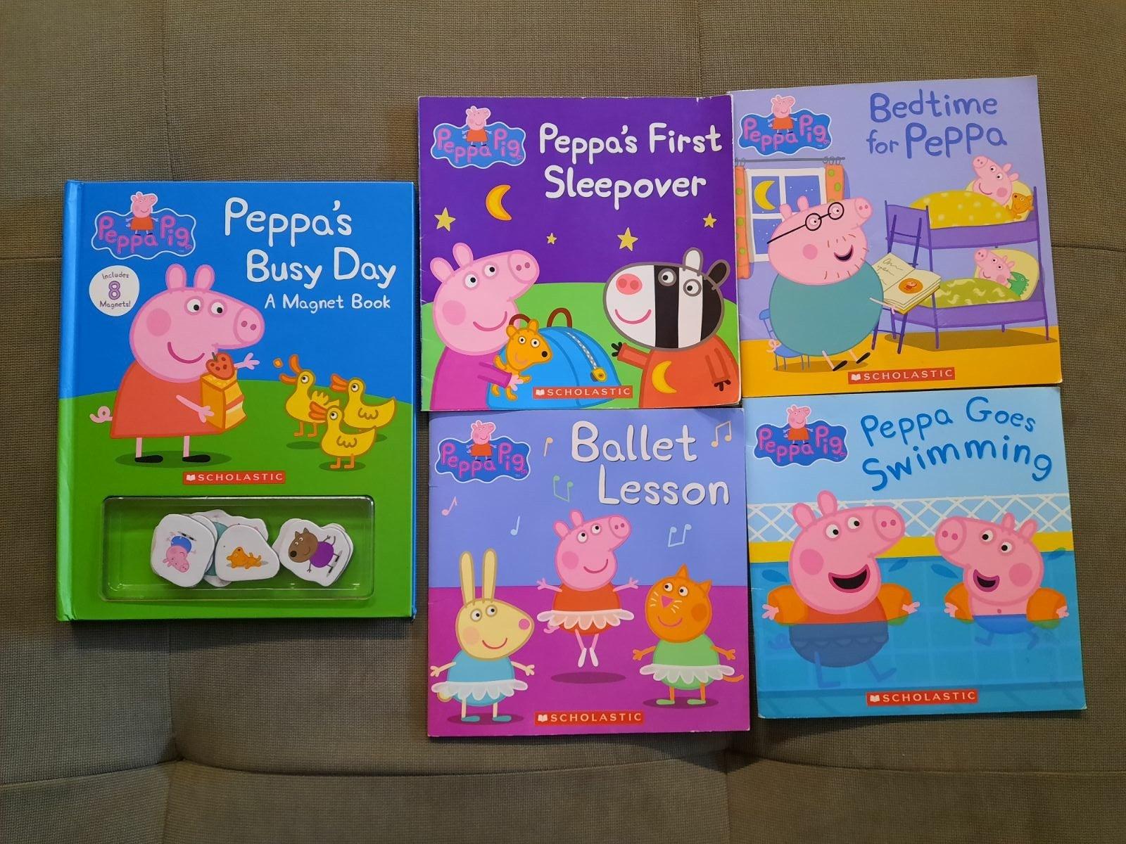 Peppa Pig Book lot of 5