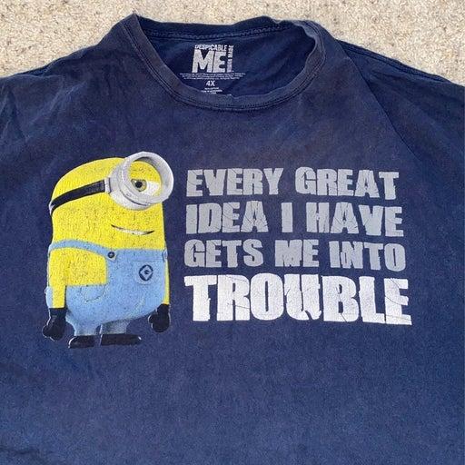 Despicable Me.   T-shirt.   4X.