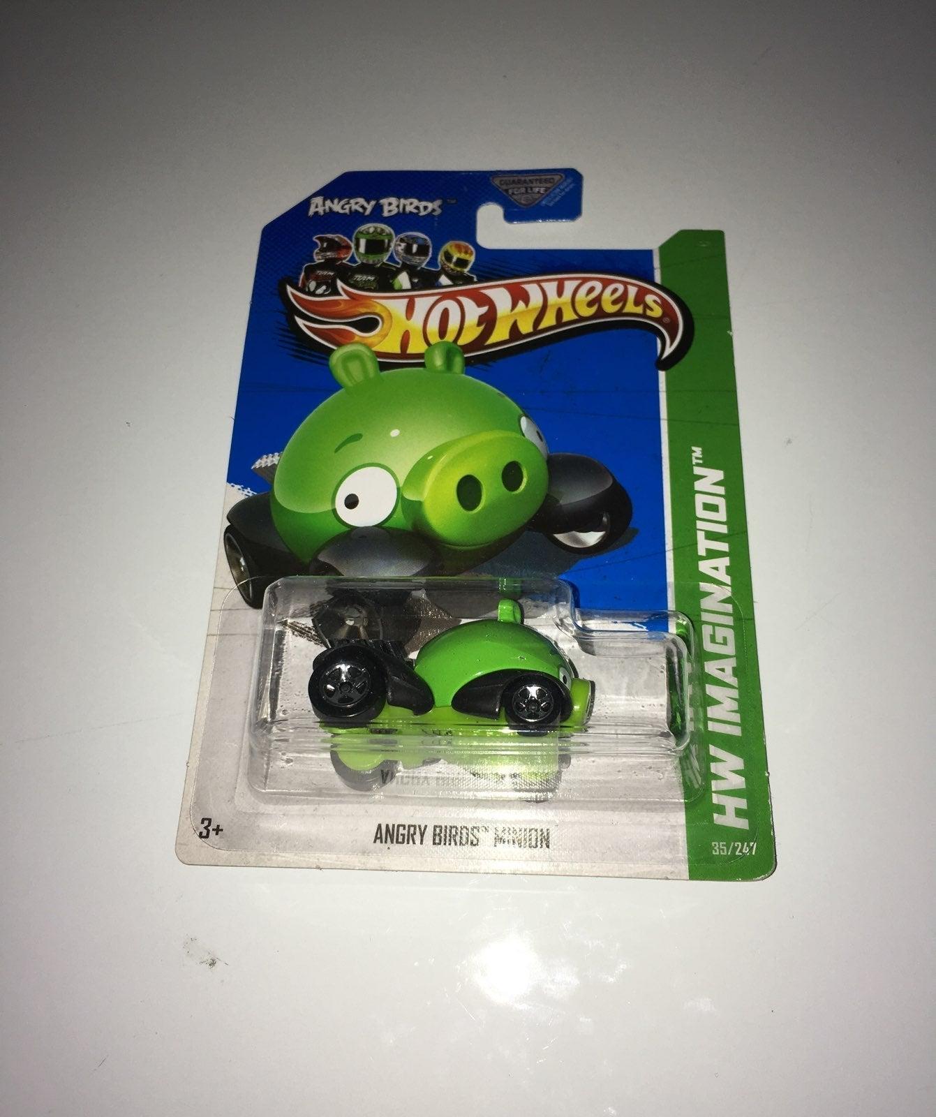 Angry Birds.Minion.Pig.Hot wheels.car