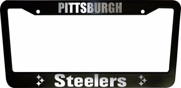 2 Pittsburgh Steelers LicensePlate Frame