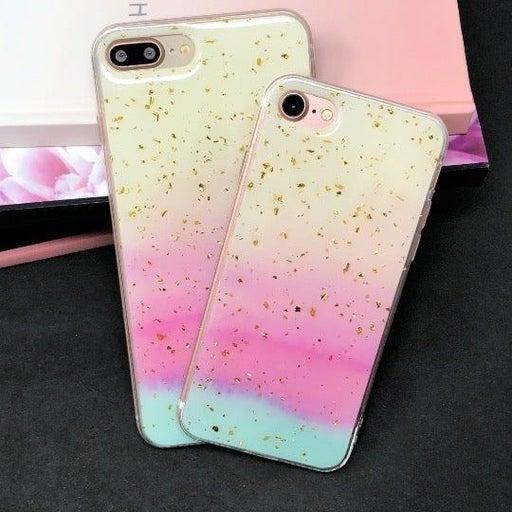 New iPhone 7P/8P Rainbow Glitter Case.