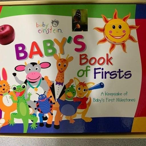 Baby Einstein Book of Firsts