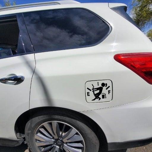 women car decal