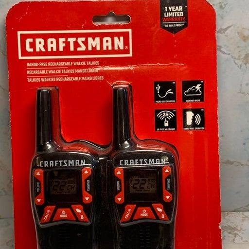 Craftsman Walkie Talkies CMXZRAZF333