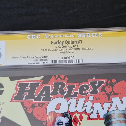 CGC 9.6 New 52 Harley Quinn #1 SIGNED