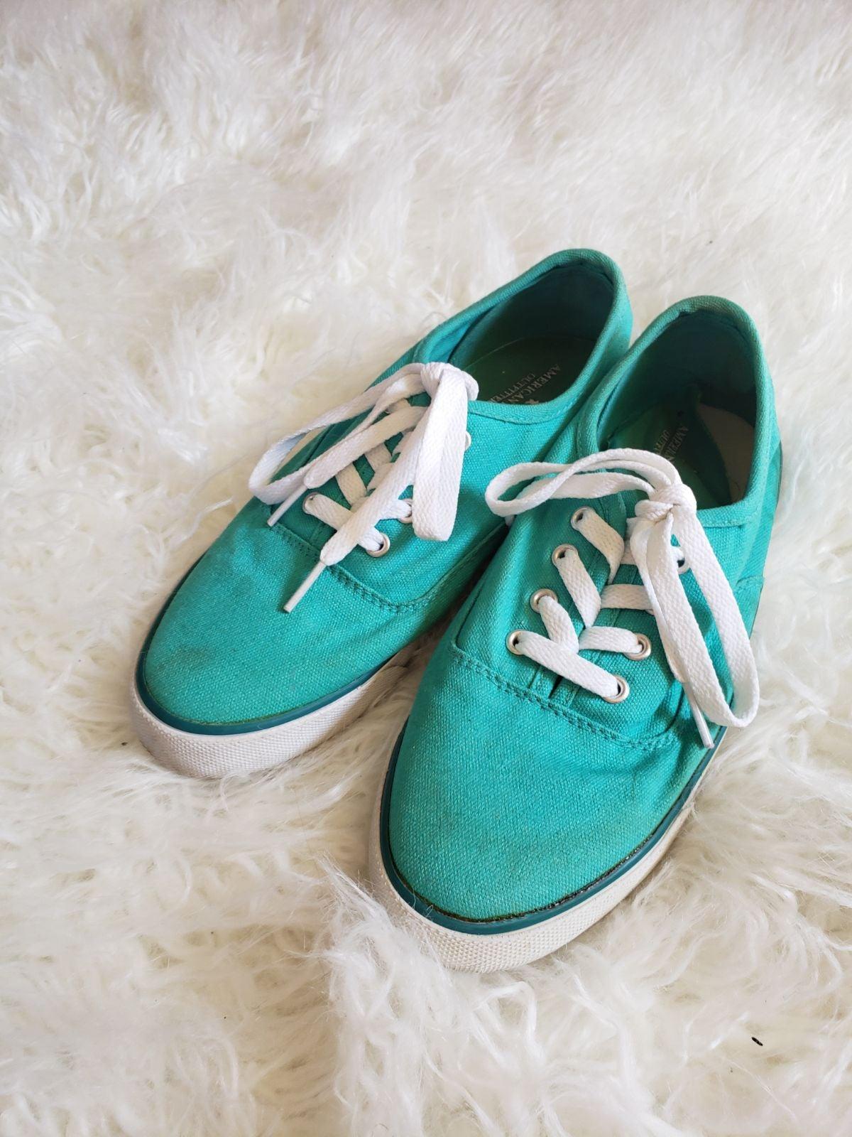 AEO Teal Sneakers