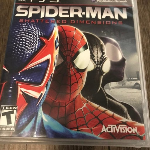 spiderman ps3 Shatter Dimensions