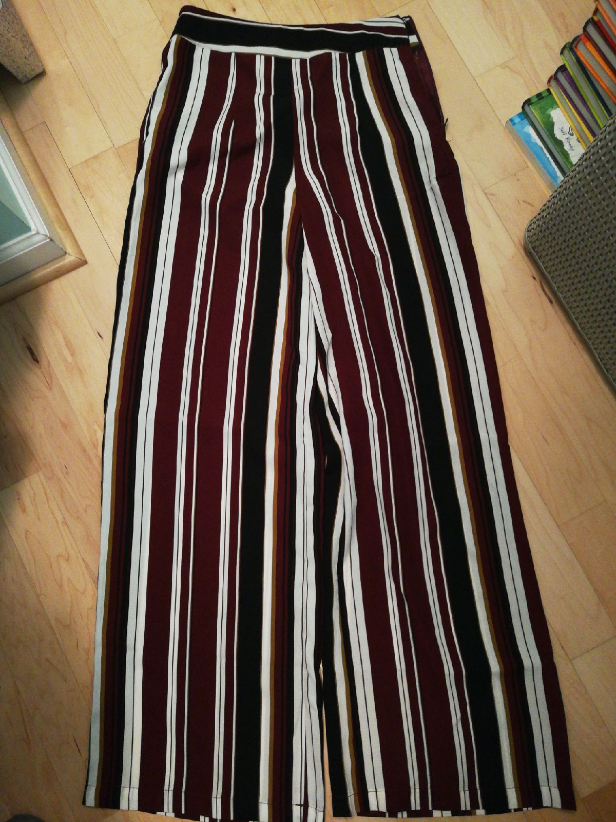 Forever 21 pants summer stripes sz small