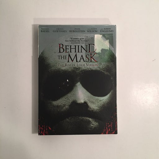 Behind The Mask The Rise Of Leslie Vernon DVD NEW SEALED