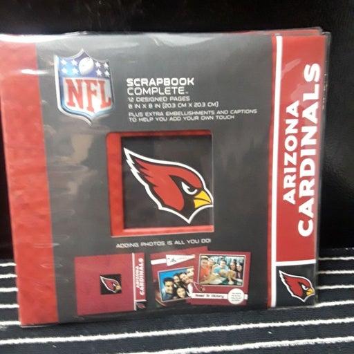 NFL Arizona Cardinal's Scrapbook