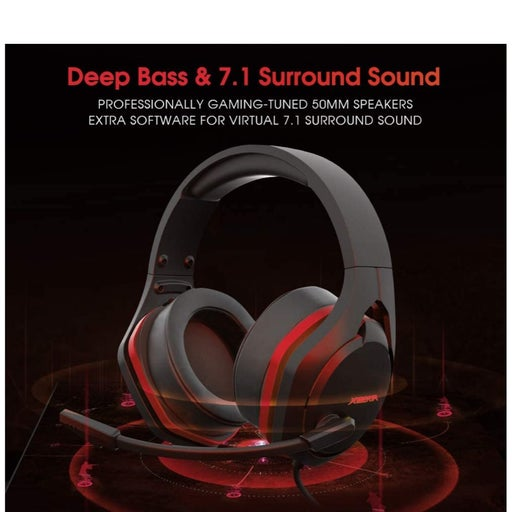 Xiberia V22 Gaming Headset for PC- Stron