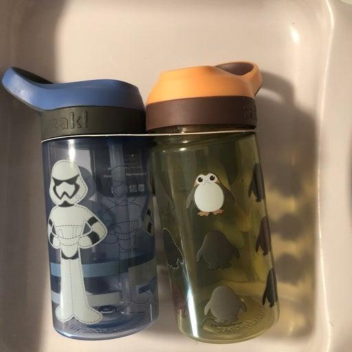 Disney Star Wars kids water bottles