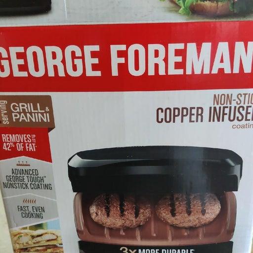 George Foreman Non-Stick Grill