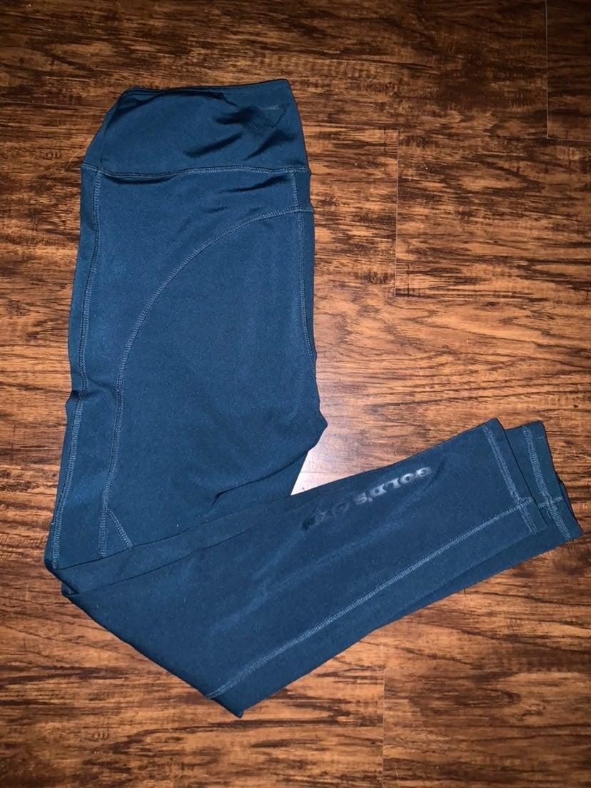 Gymshark fit leggings teal