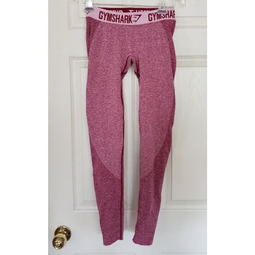 Gymshark red leggings pants S