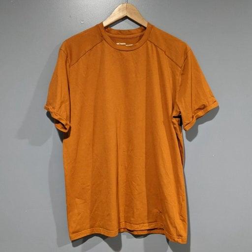 Arc'Teryx burnt orange trim fit shirt