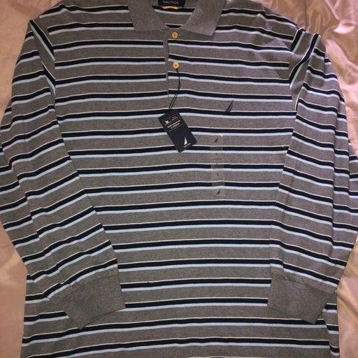 nautica striped polo shirts