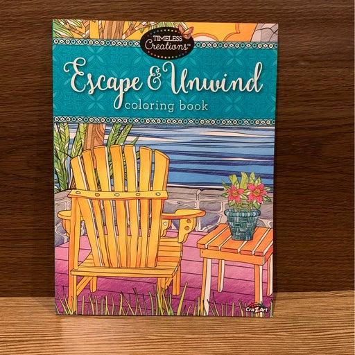Escape & Unwind Adult Coloring Book