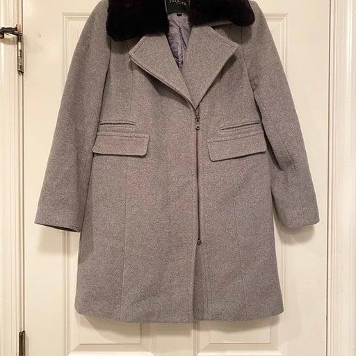 Talbots Grey Winter Jacket