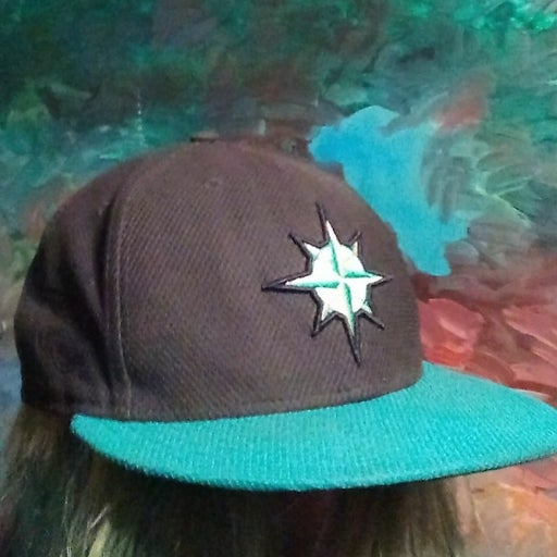 Seattle Mariners fitted size 8 hat