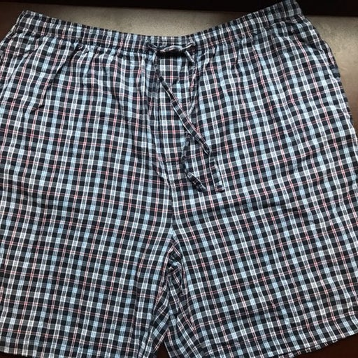 Men's Draw String Cotton Shorts