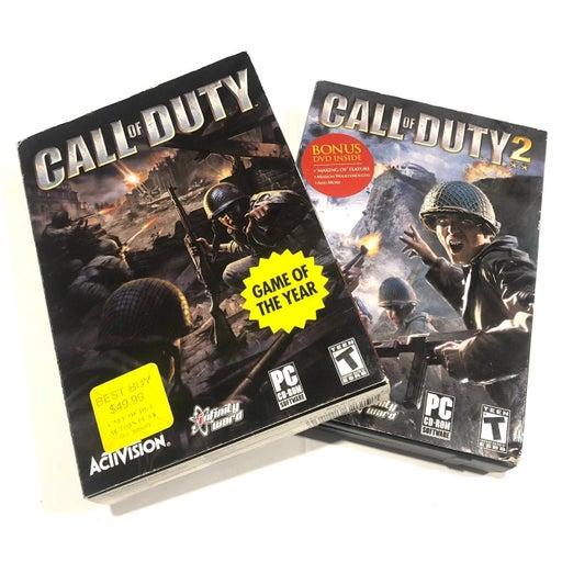 Call of Duty 1 and 2 pc big box bundle