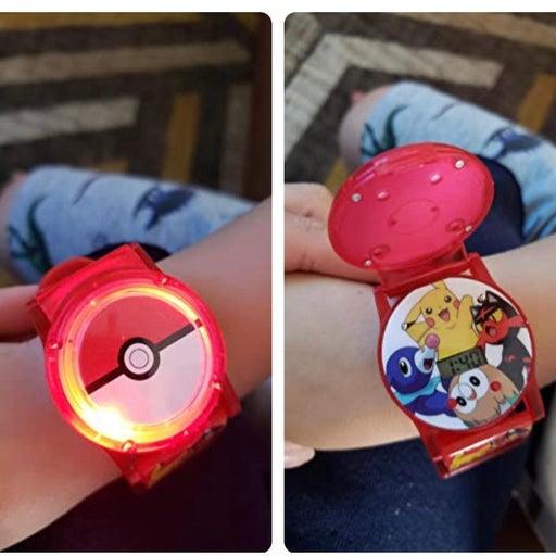 Kids Digital Pokemon Light Up Watch