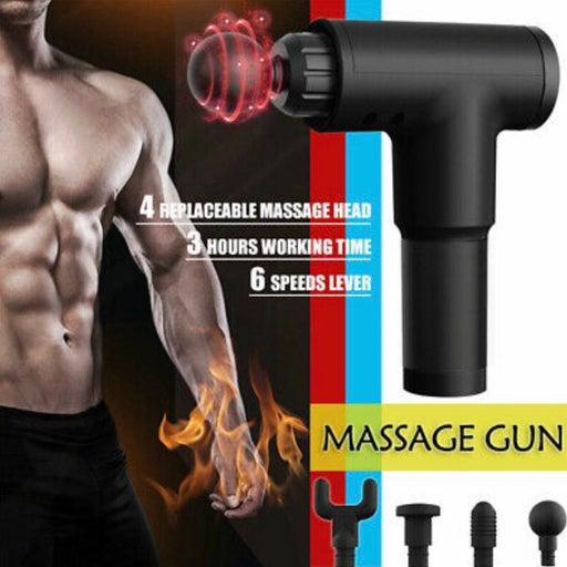 New Fascia Massage Gun Percussion Massager Muscle Relaxing Sports Recovery Thera