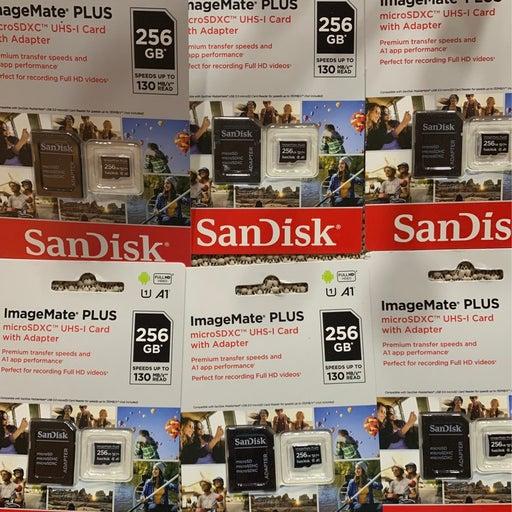 SanDisk ImageMate Plus 256GB Card x 6