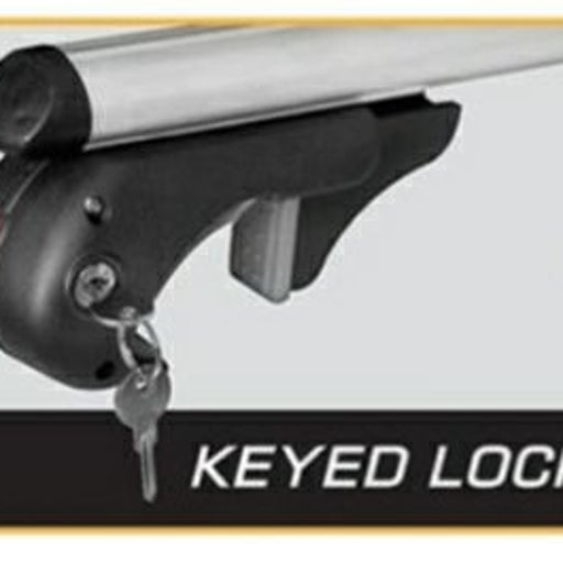 Rooftop luggage lock and keys