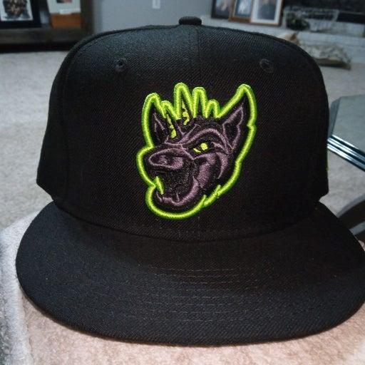 MILB Chupacabras Blackout Hat