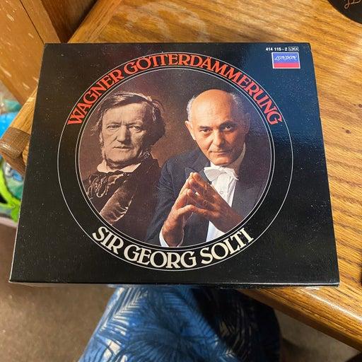 Richard Wagner Gotterdammerung Sir Georg Solti 4 CD set