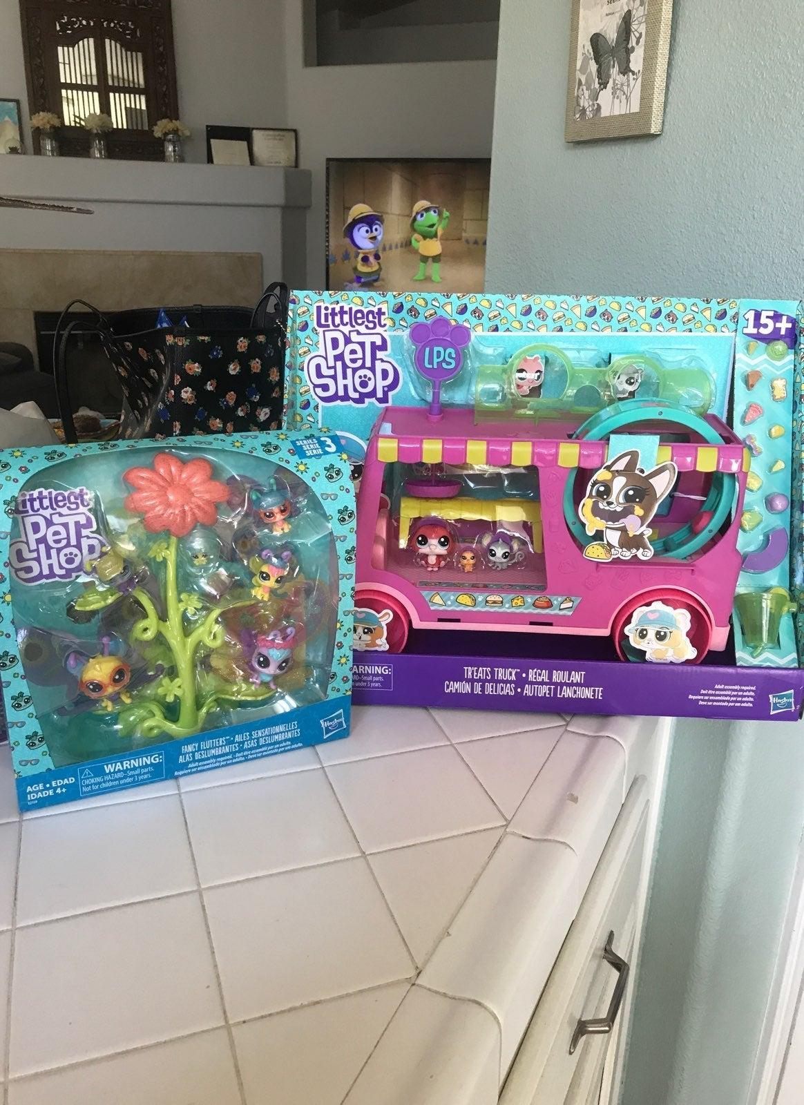 Littlest Pet Shop Treat Truck & Flutters