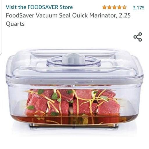 Food Saver Marinate Vacuum Canister