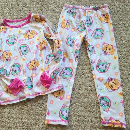 Cuddle Duds pajamas little girl 2T/3T ne