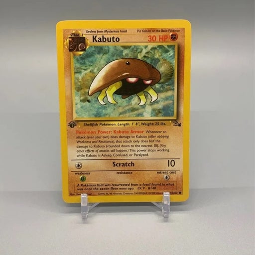 1st edition Kabuto - WotC Team Rocket Pokemon