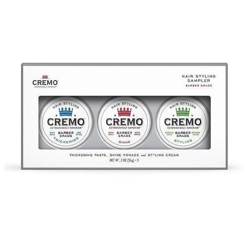 Cremo Hair Styling Sampler 2.0oz x 3 pac