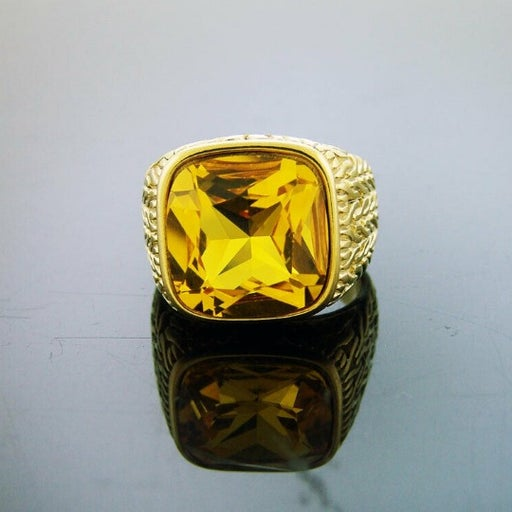 14k Yellow Gold Plated Stainless steel