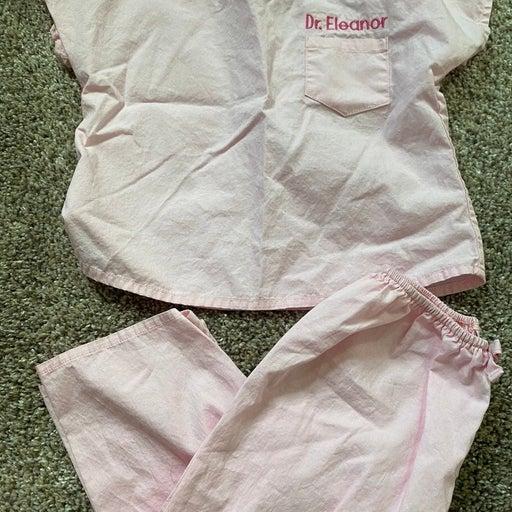 Dr. Eleanor Baby Scrubs - Pink 18 months