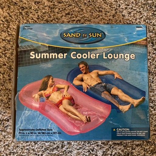Sand n sun summer cooler lounge floatie
