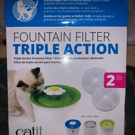 2 Pack Catit Filter Replacements