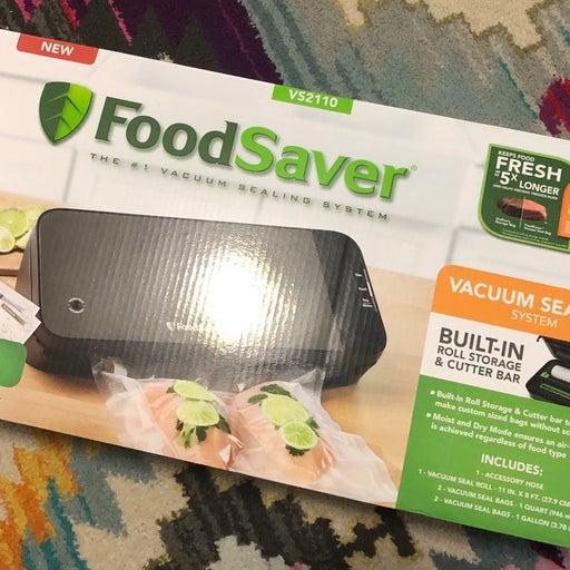 NEW FoodSaver Sealing System Machine V2110
