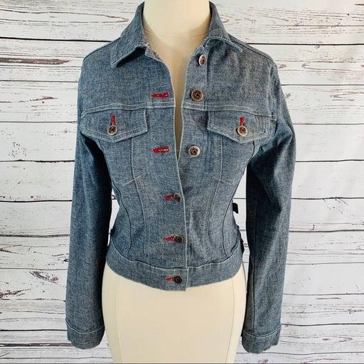 Crest Jeans Company denim jacket