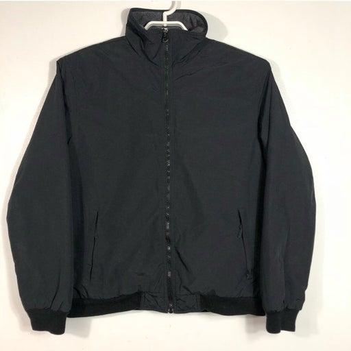 Covington Black Fleece Jacket Sz M