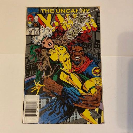THE UNCANNY X-MEN #305 NEWSSTAND