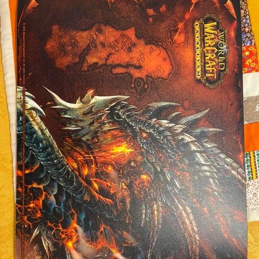 World of Warcraft Cataclysm Mousepad