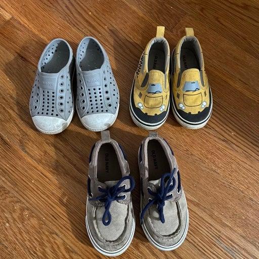 Native toddler 7 shoes sneaker old navy lot bundle