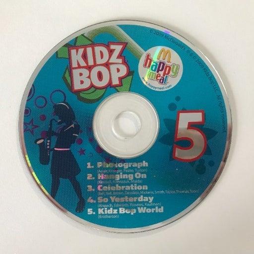 Kidz Bop 5 - KIDZ BOP Kids - McDonald's Happy Meal 2010 Listening CD