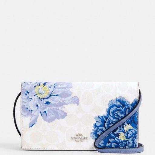 Coach purse Signature floral crossbody bag